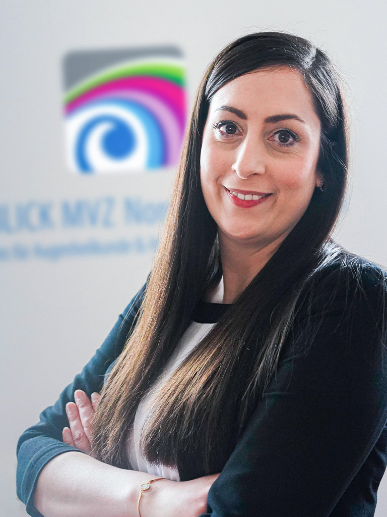 Alessandra Viezzer, Assistentin der Geschäftsführung